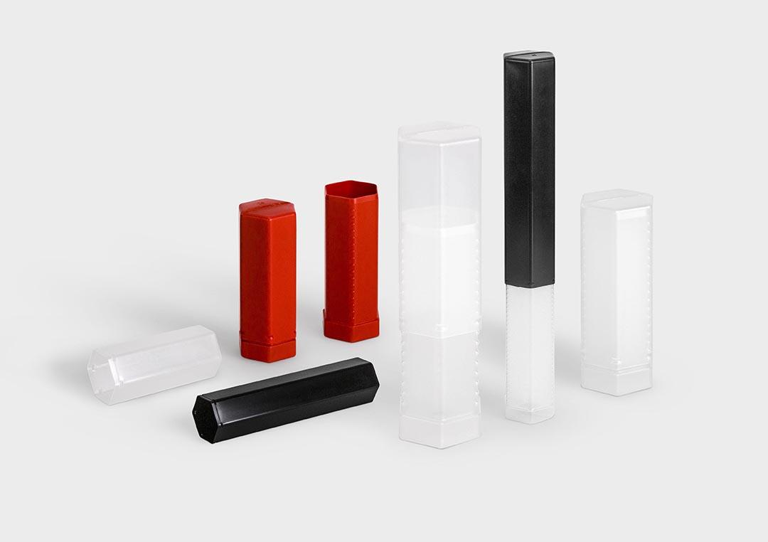 Hexpack Plastic Packaging Tubes Rose Plastic