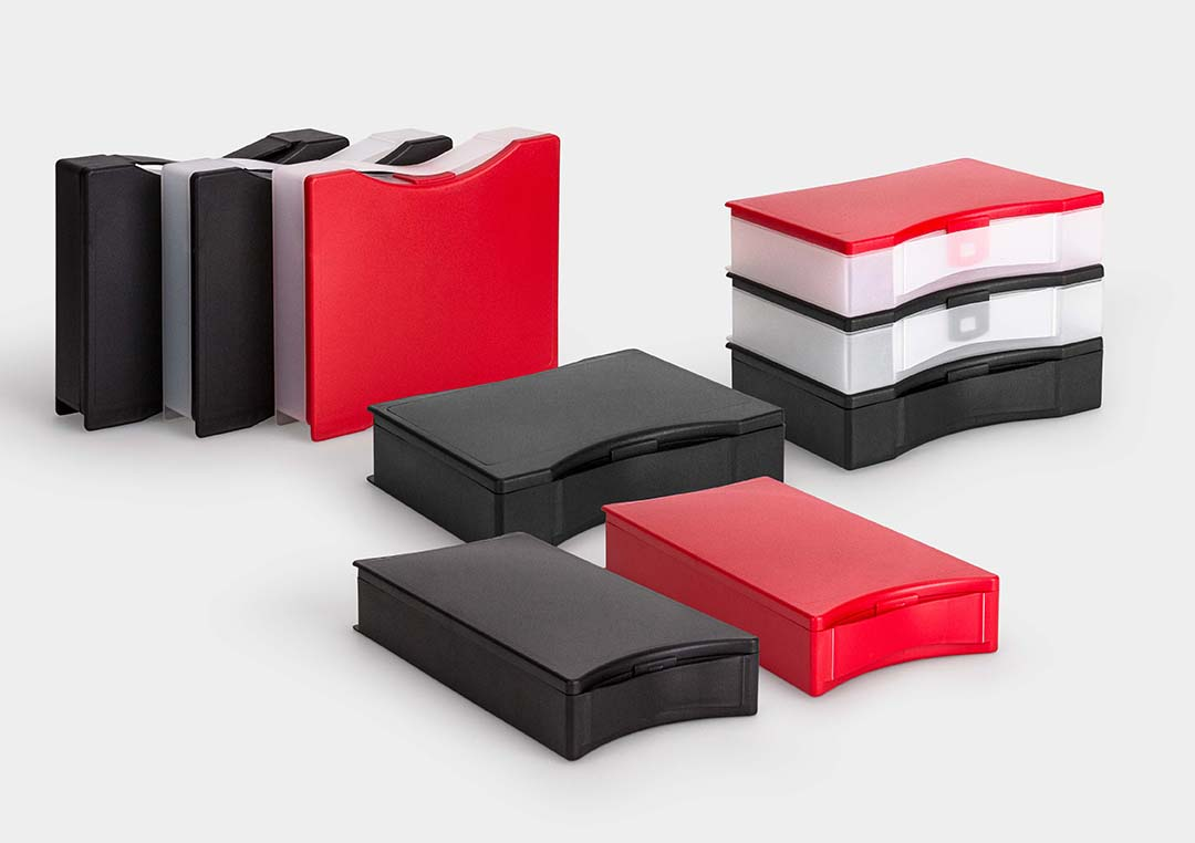 RoseCase RCS: plastic cases with universal applications.