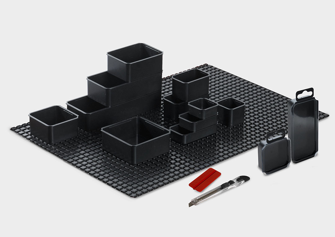 StorePack: a modular packaging, sales and storage system that adapts with flexibility to different user needs.